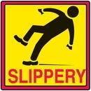 Seton 29372 Safety Traffic Cone Signs - Slippery