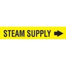 Code Seton Code Economy Self-Adhesive Pipe Markers - Steam Supply