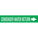 Code 30010 Seton Code Economy Self-Adhesive Pipe Markers - Condenser Water Return