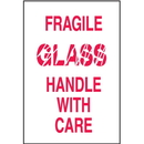 Seton 30611 Fragile Glass Handle With Care Shipping Labels