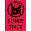 Seton 30656 International Shipping Labels-  Do Not Stack