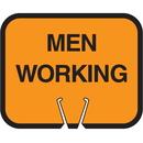 Seton 30777 Snap-On Cone Sign - Men Working