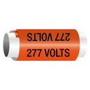Seton 277 Volts - Snap-Around Electrical Markers