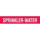 Code 32024 Seton Code Economy Self-Adhesive Pipe Markers - Sprinkler-Water