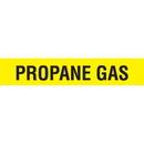 Code 32031 Seton Code Economy Self-Adhesive Pipe Markers - Propane Gas
