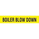 Code 32037 Seton Code? Economy Self-Adhesive Pipe Markers - Boiler Blow Down