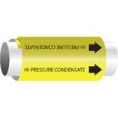 Setmark Setmark Snap-Around Pipe Markers - Hi-Pressure Condensate