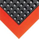 Seton 3600B Industrial Worksafe, Size: 2' X 3', Color: Black/Orange