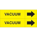 Weather-Code 38071 Weather-Code Self-Adhesive Outdoor Pipe Markers - Vacuum