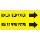 Weather-Code 38078 Weather-Code? Self-Adhesive Outdoor Pipe Markers - Boiler Feed Water