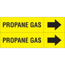 Weather-Code 38083 Weather-Code? Self-Adhesive Outdoor Pipe Markers - Propane Gas