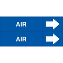 Weather-Code 38087 Weather-Code Self-Adhesive Outdoor Pipe Markers - Air
