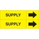 Weather-Code 38098 Weather-Code Self-Adhesive Outdoor Pipe Markers - Supply