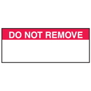 Seton 38727 Do Not Remove Write On Labels