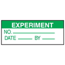 Seton 38728 Experiment No. Date By Write On Labels
