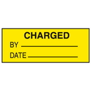 Seton 38734 Charged By Date Write On Labels
