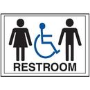 Seton Economy Front Office Signs - Rest Room/Handicap - 42370