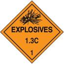 Seton 1.3C DOT Explosive Placards