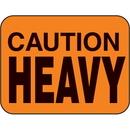 Seton 44716 Caution Heavy Fluorescent Handling Labels