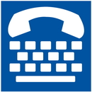 Seton 45056 Text Telephone Symbol Signs - ADA