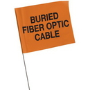 Seton 45388 Marking Flags - Buried Fiber Optic Cable