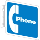Seton 45721 Telephone & ATM Signs - Phone