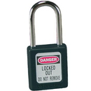Seton 47556 Master Lock Zenex Safety Padlocks - Keyed-Differently Padlocks, Size: 1-1/2