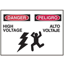 Seton 50319 Bilingual Graphic Safety Signs - Danger/Peligro