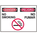 Seton 50326 Bilingual Graphic Safety Signs - Danger/Peligro