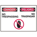 Seton 50327 Bilingual Graphic Safety Signs - Danger/Peligro