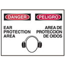 Seton 50494 Bilingual Graphic Safety Signs - Danger/Peligro