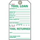 Seton 50679 2-Part Production Status Tags - Tool Loan