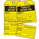 Seton 50681 2-Part Production Status Tags - Forklift Repair