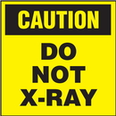 Seton 50694 Caution Do Not X-Ray Shipping Labels