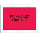 Seton 51085 Invoice And Packing List Envelopes - Packing List Enclosed