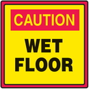 Seton 51162 Safety Traffic Cone Signs - Caution Wet Floor