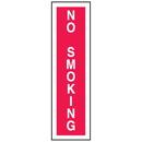 "Seton 52056 No Smoking Signs - 4""W x 14""H Plastic"