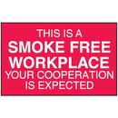 Seton 52068 This Is A Smoke Free Workplace Signs - Aluminum, Plastic or Vinyl