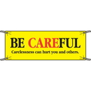 Seton 52430 Be Careful Carelessness Can Hurt Safety Banners