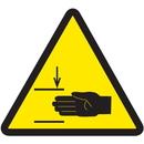 Seton 53634 International Symbols Labels - Mind Your Hands