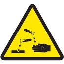 Seton 53733 International Symbols Labels - Corrosive Materials