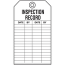 Seton 55755 Economy Equipment Inspection Tags - Inspection