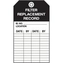Seton 55761 Economy Equipment Inspection Tags - Filter