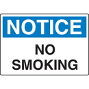 Seton 56695 OSHA Notice Signs - No Smoking