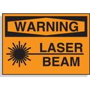 Seton 58605 Hazard Warning Labels - Warning Laser Beam
