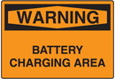 Seton 58662 OSHA Warning Signs - Battery Charging Area