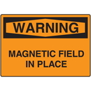 Seton 58836 OSHA Warning Signs - Warning Magnetic Field In Place