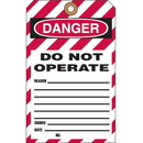 Seton 2-Part Lockout Key Tags - Do not operate - 59388