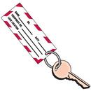 """Seton 60329 3/4"""" Metal Key Ring for 2-Part Lockout Key Tags"""