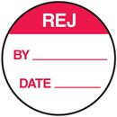 Seton 62742 REJ By Date Round Labels On A Roll